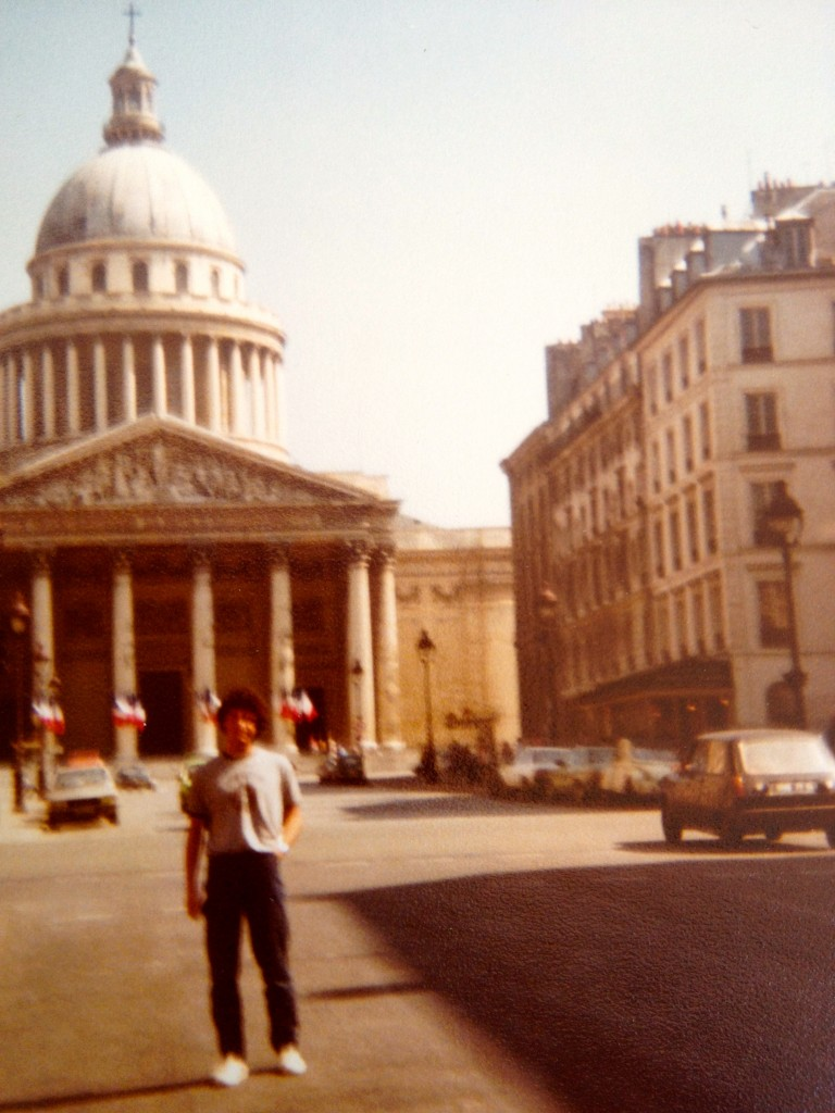 Agosto 1981 - Con Maurizio a Parigi