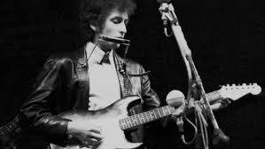 Bob Dylan at Newport Festival, 1965
