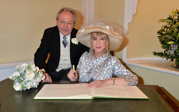 Pattie Boyd and Rod Weston Wedding