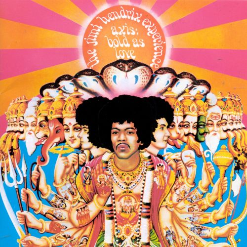 Jimi Hendrix Axis Bold as Love