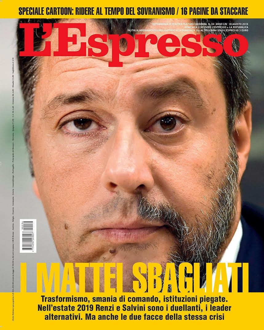 Espresso-Renzi-Salvini